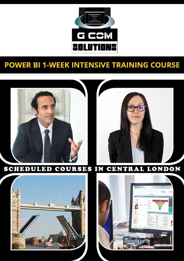 Power BI 1 Week Intensive Training Course