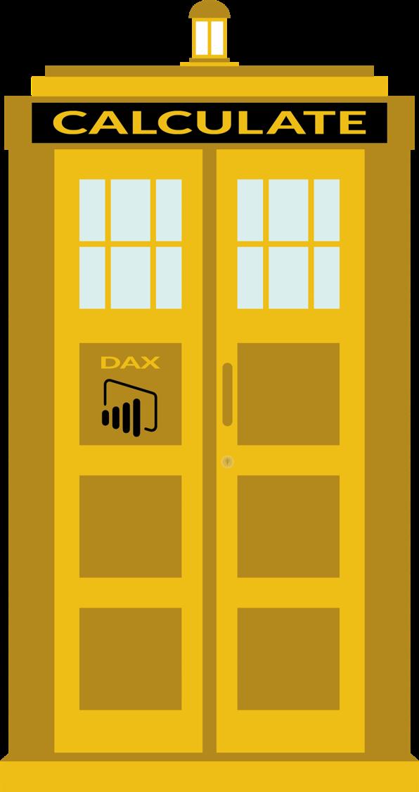 DAX CALCULATE TARDIS