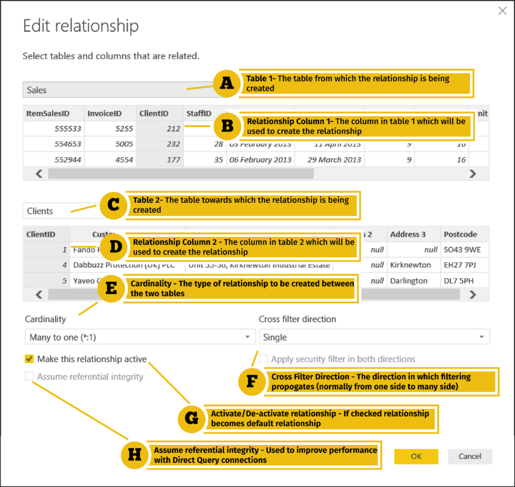 Power BI Training - Managing Relationships