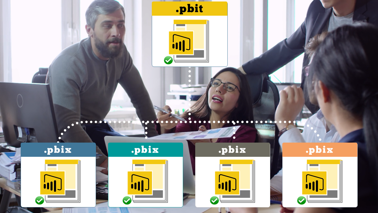 Power BI Online Training: Power BI Parameters, Templates & Row-Level Security