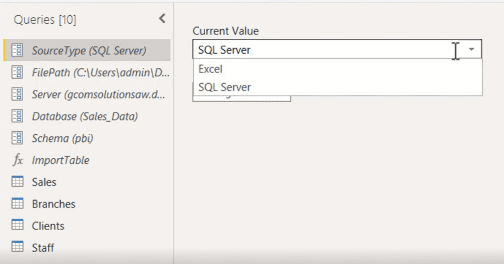 Easily Change All Data Sources from Excel to SQL Server