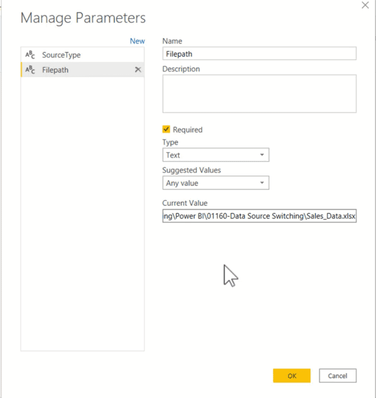 Easily Change All Data Sources from Excel to SQL Server 3